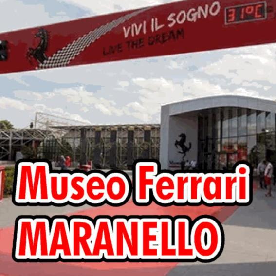 Museo Ferrai Di Maranello Ingresso e piazzale in via A.Dino Ferrari 43 maranello Modena Italy